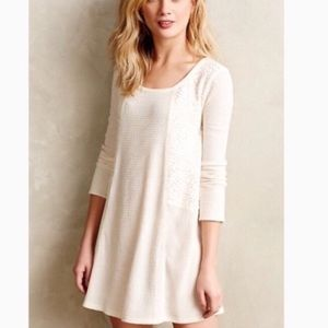 [Anthro] Eloise lace knit tunic top/dress